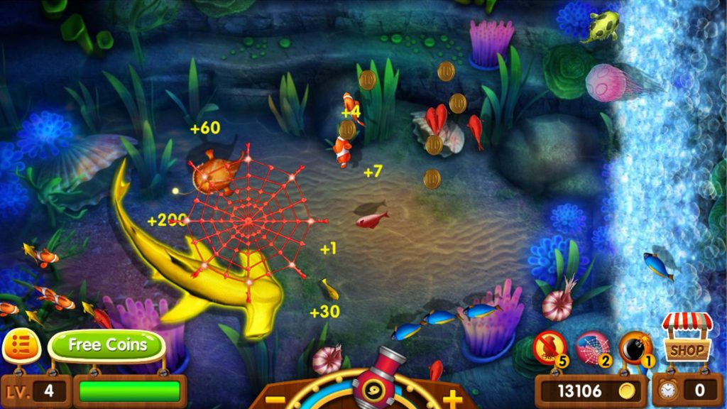 fish shooting game